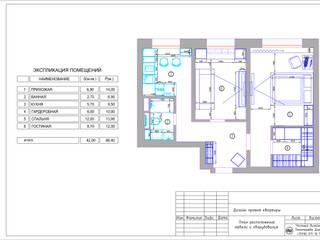 Малогабаритный Loft: Кухни в . Автор – dp_interior,
