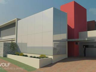 RESIDÊNCIA Casas modernas por VOLF arquitetura & design Moderno