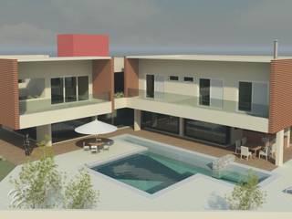 RESIDÊNCIA Piscinas modernas por VOLF arquitetura & design Moderno
