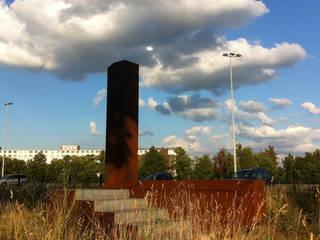 Informatie baken Frontenpark Maastricht Moderne evenementenlocaties van gorissendeponti ontwerpers + makers Modern