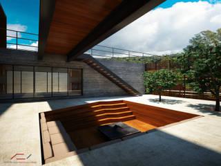 Casa da Passarela Casas modernas por Ateliê São Paulo Arquitetura Moderno