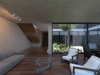 Salas de estar modernas por Studio de Arquitectura y Ciudad Moderno