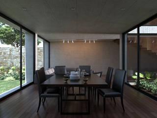 Salas de jantar modernas por Studio de Arquitectura y Ciudad Moderno