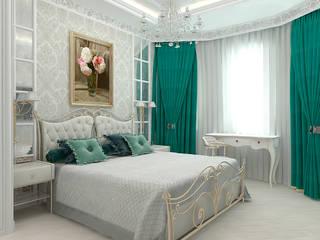 спальня в классическом стиле: Спальни в . Автор – Foli Design