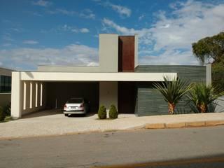 Casa LD Casas modernas por Alexandre Senra Arquitetos Associados Moderno