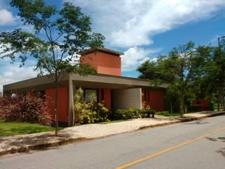 Casa R Casas modernas por Alexandre Senra Arquitetos Associados Moderno