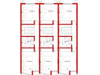 Planta Alta: Casas de estilo  por Lisandro Fiori ARQUITECTO