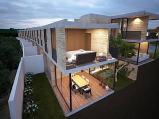 por Studio de Arquitectura y Ciudad Moderno