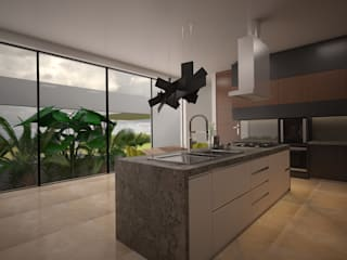 Modern Kitchen by Vau Studio Modern