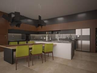 Cocinas de estilo  por Vau Studio