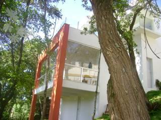 Casa Alameda das Castanheiras Casas modernas por Alexandre Senra Arquitetos Associados Moderno