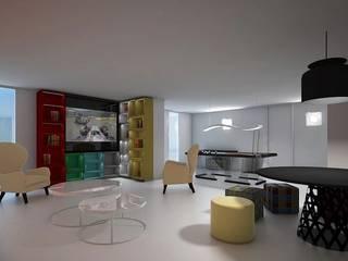 FEMMA Interior Design Modern media room