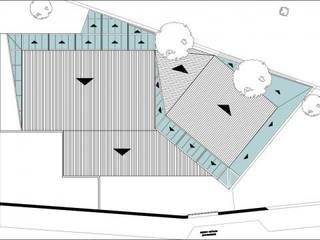 Planta de Techos: Bares y Clubs de estilo  por SSA design studio
