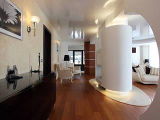Salon de style  par Архитектурно-дизайнерская студия Александра Шереметьева, Minimaliste