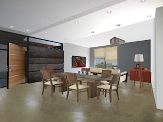 PAPAGOS LUXURY CONDOS Casas modernas de COTA ESTÉVEZ ARQUITECTURA Moderno