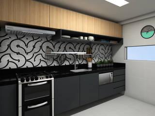 APARTAMENTO | LB Cozinhas modernas por Beiral Arquitetura e Urbanismo Moderno