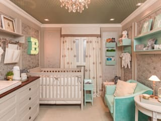 Nursery/kid's room by Lodo Barana Arquitetura e Interiores, Modern