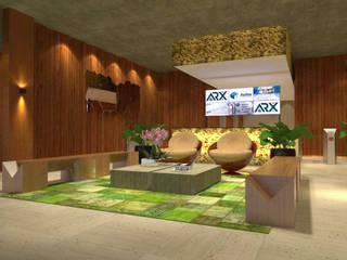 Lobby Prédio Comercial por Pereira Cunha Arquitetos Moderno