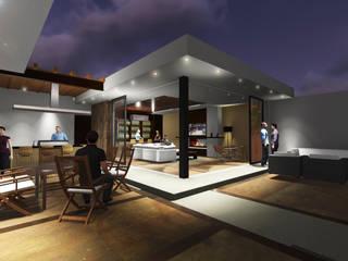 AMPLIACION RESIDENCIAL LA RIOJA: Casas de estilo  por COTA ESTÉVEZ ARQUITECTURA