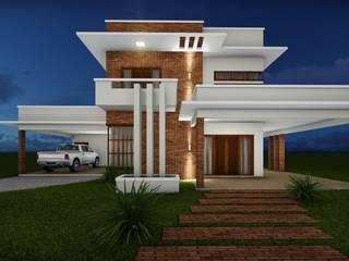 modern Houses by Aidê Arquitetura