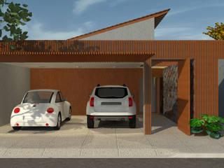 Arraso House Casas modernas por Pereira Cunha Arquitetos Moderno