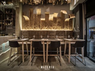 Materia Gastrotasca: Locales gastronómicos de estilo  de ESTUDIO SERGIO MACÍAS