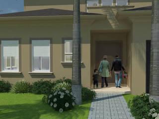 Residencia Steel Frame Casas clássicas por Pereira Cunha Arquitetos Clássico