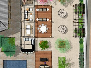 Residencia PC por Pereira Cunha Arquitetos Moderno