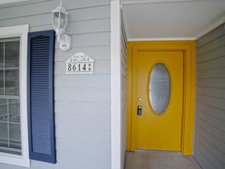 Couloir, entrée, escaliers ruraux par Noelia Ünik Designs Rural