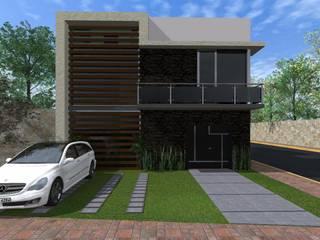 Casa FM Casas minimalistas de HC Arquitecto Minimalista
