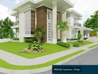 Casa Tradicional Moderna por ARQJAQ-Jaqueline Machado Arquitetura Clássico