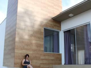 CASA FC: Casas  por Gabriela Brandão . Arquitetura,Moderno