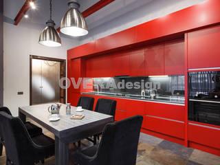 Реализованный проект Дома в стиле Лофт Кухня в стиле лофт от Вера Откидач Лофт МДФ