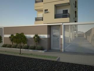 predio residencial com 5 pavimentos Casas clássicas por Construtora Lima Projetos Clássico