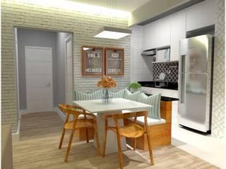 Dining room by SIMPLESCIDADE ARQUITETURA, Modern