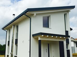Abitazione bio: Case in stile  di Architetto Milena De Fontis