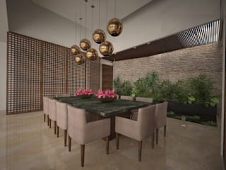 Modern Dining Room by Vau Studio Modern