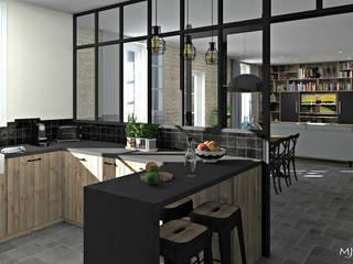 MJ Intérieurs Kitchen Wood