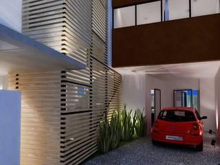 Maisons de style  par FRACTAL CORP Arquitectura,