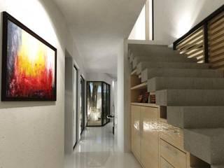 FRACTAL CORP Arquitectura Koridor & Tangga Modern