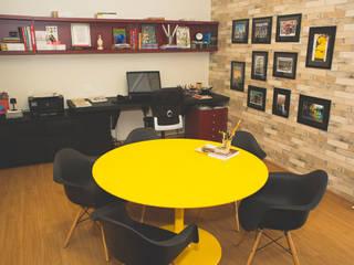Sala de escritório de Arquitetura 34m2:   por Marianna Vetorazzo Haddad Arq+Interiores