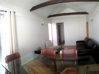 Remodelacion y ampliación Casa G. Toledo estudio Arquitectos Livings de estilo mediterráneo