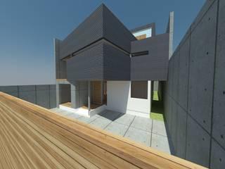 Casa Jara-Andrade, Iquique... Tramas, vacío y luz. Toledo estudio Arquitectos Casas estilo moderno: ideas, arquitectura e imágenes