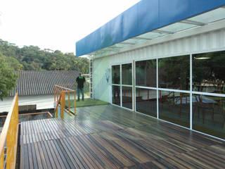 CEEEC - Onda Verde Casas modernas por Arktectus Arquitetura Sustentável Moderno