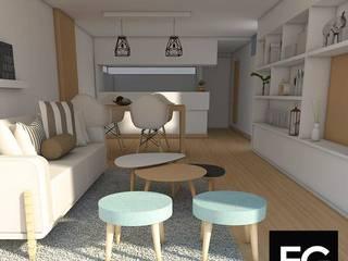 INTERIORISMO II Livings modernos: Ideas, imágenes y decoración de FG ARQUITECTURA E INTERIORISMO Moderno