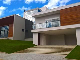 Rumah oleh Daniela Viana e Lilian Maravai Arquitetura, Modern
