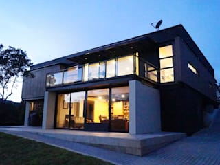 Casas de estilo  por Más Lados Arquitectura, Moderno