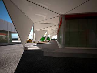 Moderne Ladenflächen von BTA DISEÑO Y CONSTRUCCION Modern