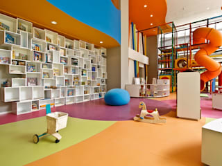 Gimnasios de estilo moderno de Mobiliario y Equipo MEE Moderno