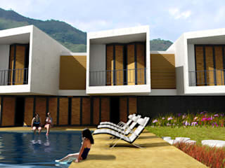 CASA L2_ San Jerónimo - Antioquia: Casas de estilo  por @tresarquitectos